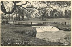 THE WATERFALL, SHERBORNE PARK