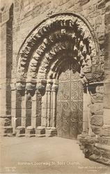 NORMAN DOORWAY, ST. BEES CHURCH