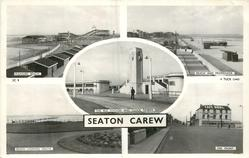 5 insets PLEASURE BEACH/BEACH AND PROMENADE/THE BUS STATION AND CLOCK TOWER/BEACH LOOKING SOUTHTHE FRONT