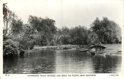exterior, pond front row-boats front
