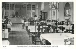 interior of tea room