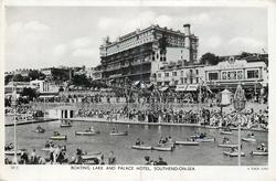 BOATING LAKE AND PALACE HOTEL