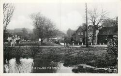 THE VILLAGE AND GREEN  pond front