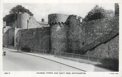 ARUNDEL TOWER AND FORTY STEPS