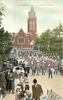 ALL SAINTS CHURCH behind military parade