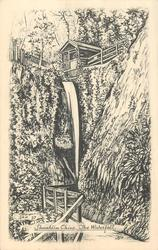 SHANKLIN CHINE, THE WATERFALL