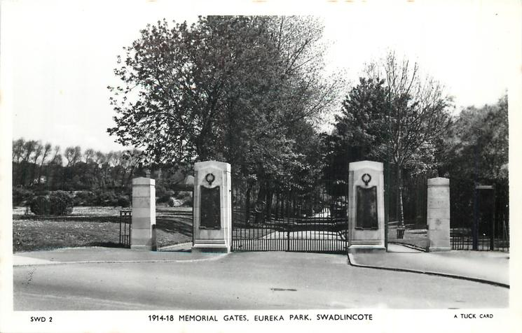 1914-18 MEMORIAL GATES, EUREKA PARK
