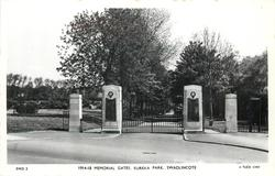 1914-18 MEMORIAL GATES, EUREKA PARK