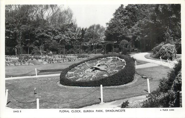 FLORAL CLOCK, EUREKA PARK