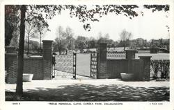 1939-45 MEMORIAL GATES, EUREKA PARK