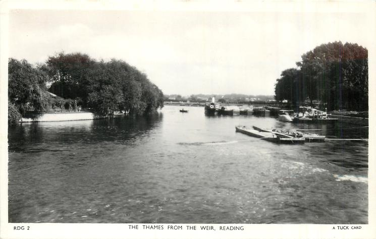 THE THAMES, FROM THE WEIR