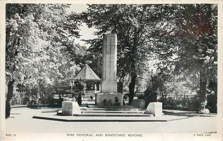 WAR MEMORIAL AND BANDSTAND
