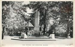 WAR MEMORIAL AND BANDSTAND