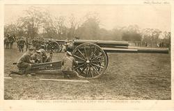 ROYAL HORSE ARTILLERY 60 POUNDER GUN