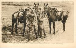 ON THE LOOK OUT, 19TH HUSSARS