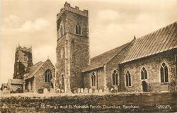 ST. MARY'S AND ST. MICHAEL'S PARISH CHURCHES