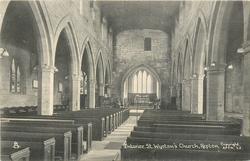 INTERIOR ST. WYSTAN'S CHURCH