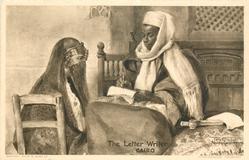 THE LETTER WRITER, CAIRO