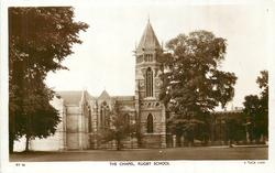 THE CHAPEL, RUGBY SCHOOL