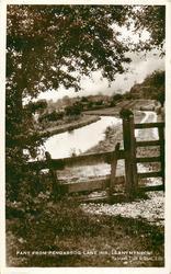 PANT FROM PANGARROG LANE (NR. LLANYMYNECH)