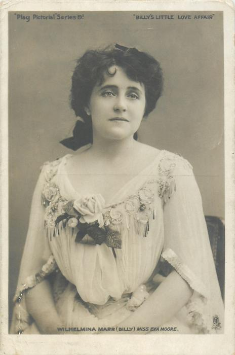 WILHELMINA MARR (BILLY) MISS EVA MOORE