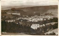 PEEBLES FROM THE EAST