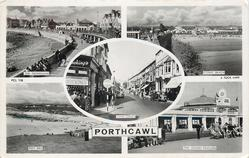 5 insets THE PROMENADE/CONEY BEACH/JOHN STREET/REST BAY/THE GRAND PAVILION