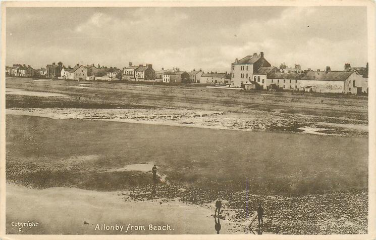 ALLONBY FROM BEACH