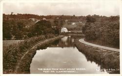 THE BASIN FROM MALT HOUSE BRIDGE