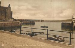 ENTRANCE TO THE HARBOUR, PEEL, I.O.M.