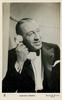 GORDON HARKER  with phone on right ear