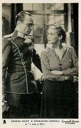 "CONRAD VEIDT & MADELEINE CARROLL IN  ""I WAS A SPY"""