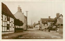 ELIZABETHAN HOUSE AND HIGH STREET