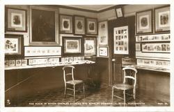 THE ROOM IN WHICH CHARLES DICKENS WAS BORN AT COMMERCIAL ROAD