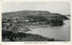 PORTREE FROM VIEWFIELD, ISLE OF SKYE