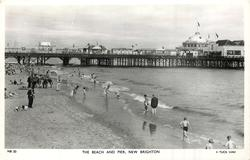 THE BEACH AND PIER