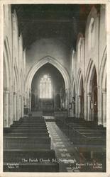 THE PARISH CHURCH interior