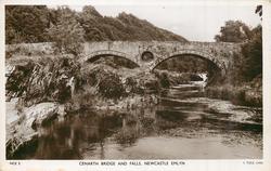 CENARTH BRIDGE AND FALLS