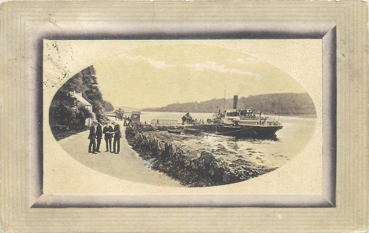 """S.S. """"PIONEER"""" AT WEST LOCH"""