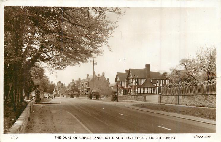 DUKE OF CUMBERLAND HOTEL AND HIGH STREET