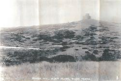GENERAL VIEW OF BLOCK ISLAND, RHODE ISLAND, FROM TOWER OF DOGGETT BEACON
