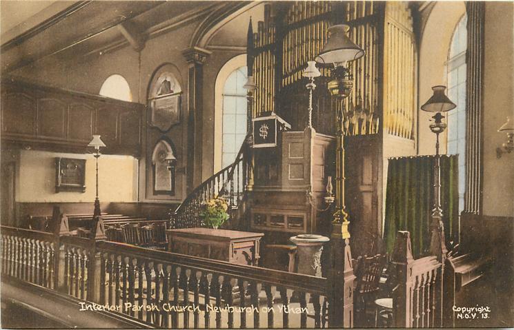 INTERIOR PARISH CHURCH