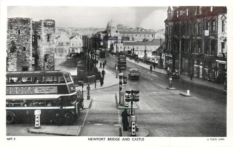 NEWPORT BRIDGE AND CASTLE
