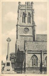 PARISH CHURCH AND WAR MEMORIAL