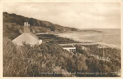 CASTLE COVE FROM THE MOUND, NITON UNDERCLIFFE, I.O.W.