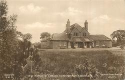 WAR MEMORIAL COTTAGE HOSPITAL