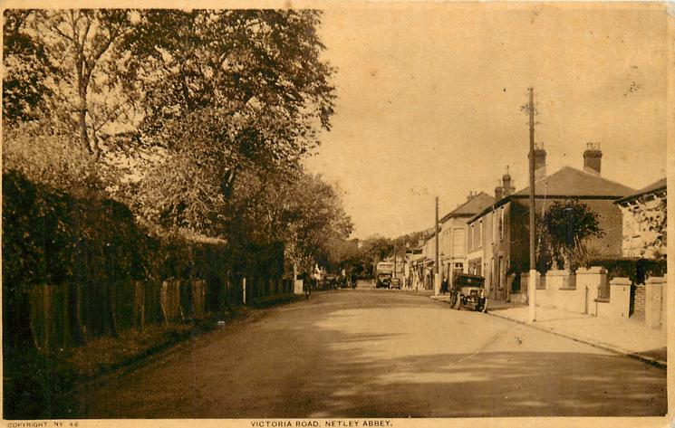 VICTORIA ROAD, NETLEY ABBEY