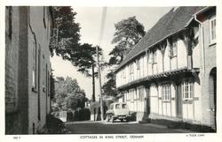 COTTAGES IN KING STREET