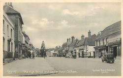 THE HIGH STREET AND GEORGE HOTEL