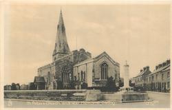 ST. PETER'S CHURCH AND WAR MEMORIAL